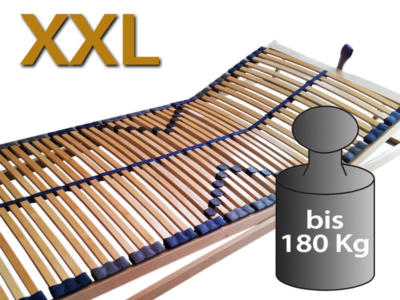 7 Zonen Lattenrost Optimalux Xxl Kf Bis 180 Kg Korpergewicht