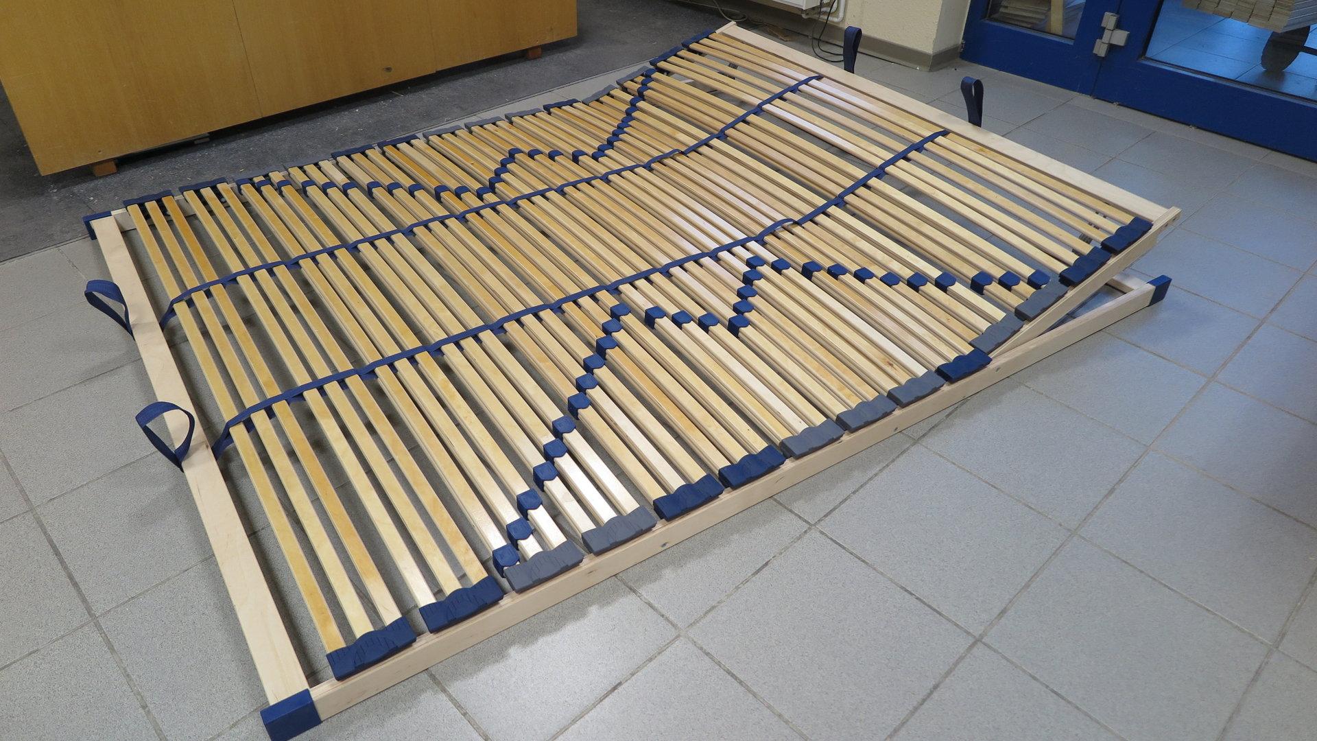 7 zonen lattenrost bluestar xxl kf k u nv belastbar bis 180 kg k rpergewicht bis breite 160 cm. Black Bedroom Furniture Sets. Home Design Ideas
