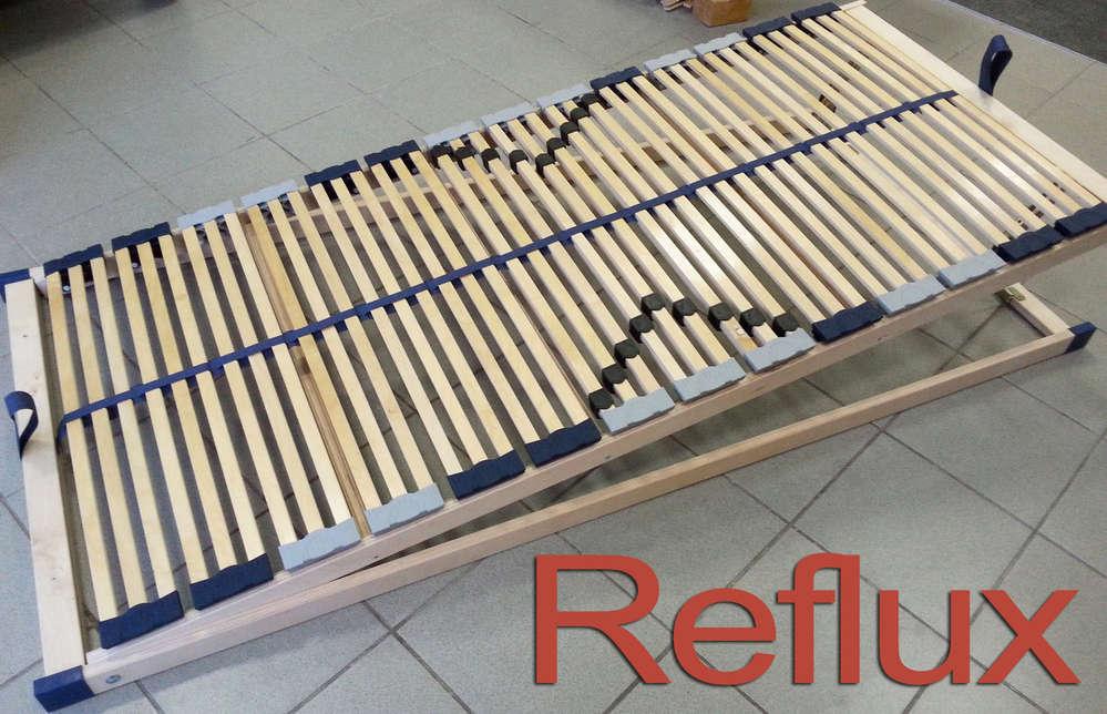 Reflux Lattenrost - 7 Zonen Lattenrost - komplette Schrägverstellung ...